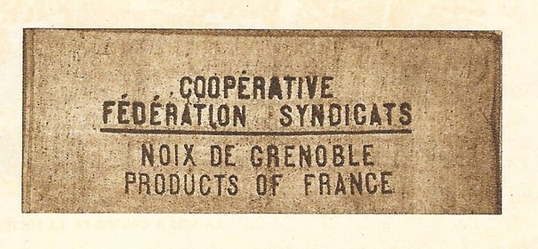 cooperative federation syndicats noix grenoble